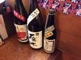 季節の日本酒もございます。お店で確認してみよう♪