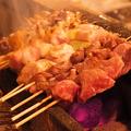 料理メニュー写真ねぎま / つくね / 鶏むね(わさび) / 鶏レバー /豚バラ/カシラ/ハラミ など