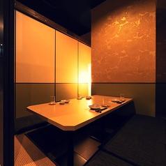 2名様用の個室。デートに最適です◎※系列店舗との併設店舗となります