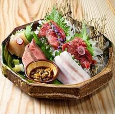 お肉たちの宴~五種肉の盛り合わせ(2人前)