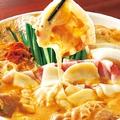 料理メニュー写真豆乳キムチーズ鍋