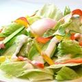 料理メニュー写真朝どれ野菜たっぷりシーザーサラダ ~オリジナルドレッシングで~