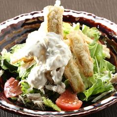 カリカリごぼうのタルタルサラダ