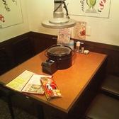 テーブル席もございます。2席しかございませんので予約はお早めに☆