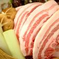 料理メニュー写真もみじ豚と有機野菜の蒸篭蒸し