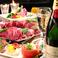 歓送迎会コース 会社宴会に最適♪全国各地のこだわりの地酒やスパークリングワインなど種類も豊富にご用意!お気に入りのお酒がきっと見つかります♪ワインや、カクテルなども女性に人気のアルコールも多数ご用意しております!!アラカルトではお得なクーポン券もご用意!