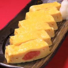 だし巻き玉子(明太子/しらす/チーズ)