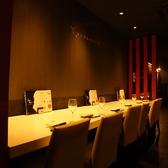 デートなどに人気なカウンター席(取り外す事もあります) 【肉寿司/焼肉/誕生日/記念日/歓送迎会】