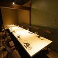 宴会・歓迎会や飲み会などにお使いいただけるテーブル席です。
