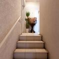 階段を上ると。。