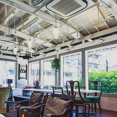 イタリアン hermit green cafe ハーミットグリーンカフェ 京都大山崎店の雰囲気1