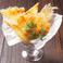 料理メニュー写真カリカリチーズの薄焼きガレット