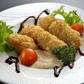 料理メニュー写真牡蠣フライ タルタル&バルサミコ
