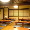 どこに座っても全体を見渡せる2階の宴会フローリング個室。各種宴会や会合などにも人気があります♪