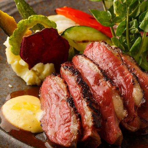 スペシャリテを初め、フォアグラや和牛など高級食材の贅沢コース♪【贅沢ディナーコース】6380円