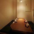 人気のテーブル個室