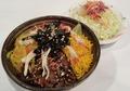 料理メニュー写真鶏飯バイキング(サラダ付き)