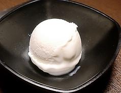 料理メニュー写真アイスクリーム