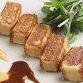 料理メニュー写真京生麩のごま油焼