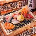 料理メニュー写真鮮魚炙り串 5種盛り/8種盛り