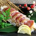 料理メニュー写真マグロのレアステーキ