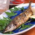 料理メニュー写真【秋刀魚の塩焼き】