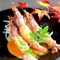 料理メニュー写真大赤海老の特製海老マヨネーズ