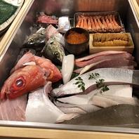 瀬戸内鮮魚を中心に、季節の食材を扱う