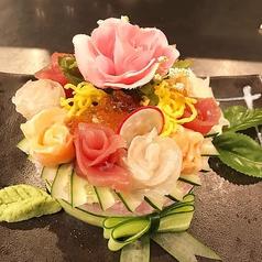 インスタ映えの寿司ケーキ♪店主が心を込めてお作り致します