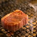料理メニュー写真鹿児島産黒毛和牛イチボ炭焼き