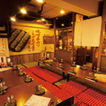 昭和の雰囲気漂うレトロな空間のお座敷席です。人数に合わせてお席をご用意させていただきますので、お気軽にお問い合わせください。お子様連れの子供会や地域の集まりなどにもご活用いただけます。