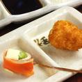 チーズの鮭巻