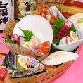 秋田の食材を堪能!鮮魚・地酒は秋田のものを拘って仕入れしております!