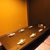 【掘り炬燵個室】6名×3部屋あり。