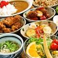 料理メニュー写真季節のお料理はもちろん唐揚げ・ポテトフライ・カレーなどのガッツリサイドMENU