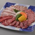 料理メニュー写真満腹大皿(3~4人盛り)