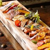 肉の味を知る☆人気No.1の肉のプロが焼く肉盛合せ。
