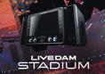 【LIVE DAMスタジアム】興奮の渦の中へ。LIVE DAM STADIUM誕生。スタジアムライブの迫力ある音楽体験を実現し、新たなエンターテイメント機能も搭載。想像を超える感動と興奮で、歌う空間が世界一のスタジアムに生まれ変わる。
