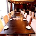 10名テーブル
