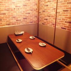 デートや記念日にオススメのプライベート個室空間♪