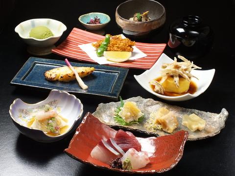 大将おすすめの和食料理とラグジュアリー空間♪並木通りの新たな名店!