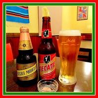 """メキシコ人気NO.1地ビール""""TECATE""""を岩塩&レモンで♪"""