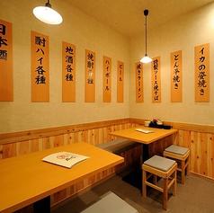 【1F】名古屋駅から近いので仕事帰りの1杯に1名様の利用も多い。鉄板焼き料理をつまみにちょい飲み出来ます!