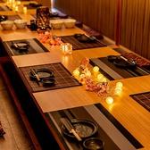 和食個室居酒屋 夢花 ゆめはな 片町店の雰囲気2