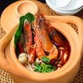 料理メニュー写真トムヤムクン「海老の辛酸スープ」