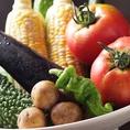 夏野菜!無事に育ってくれることを祈ります!静岡市大橋さんのトマトも皆さんに是非召し上がっていただきたいです。