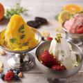 料理メニュー写真旬の果実や素材を使った「イタリアンジェラート」
