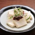 料理メニュー写真薬味たっぷり肉味噌豆腐
