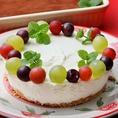 事前御予約でスペシャルケーキのご用意も出来ます! バースデーケーキや記念日のお祝いに!お名前やメッセージを入れることもモチロンOK!1名様~ /400円