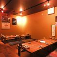 【2階】20名までのお座敷個室です。各種宴会にご利用下さい!